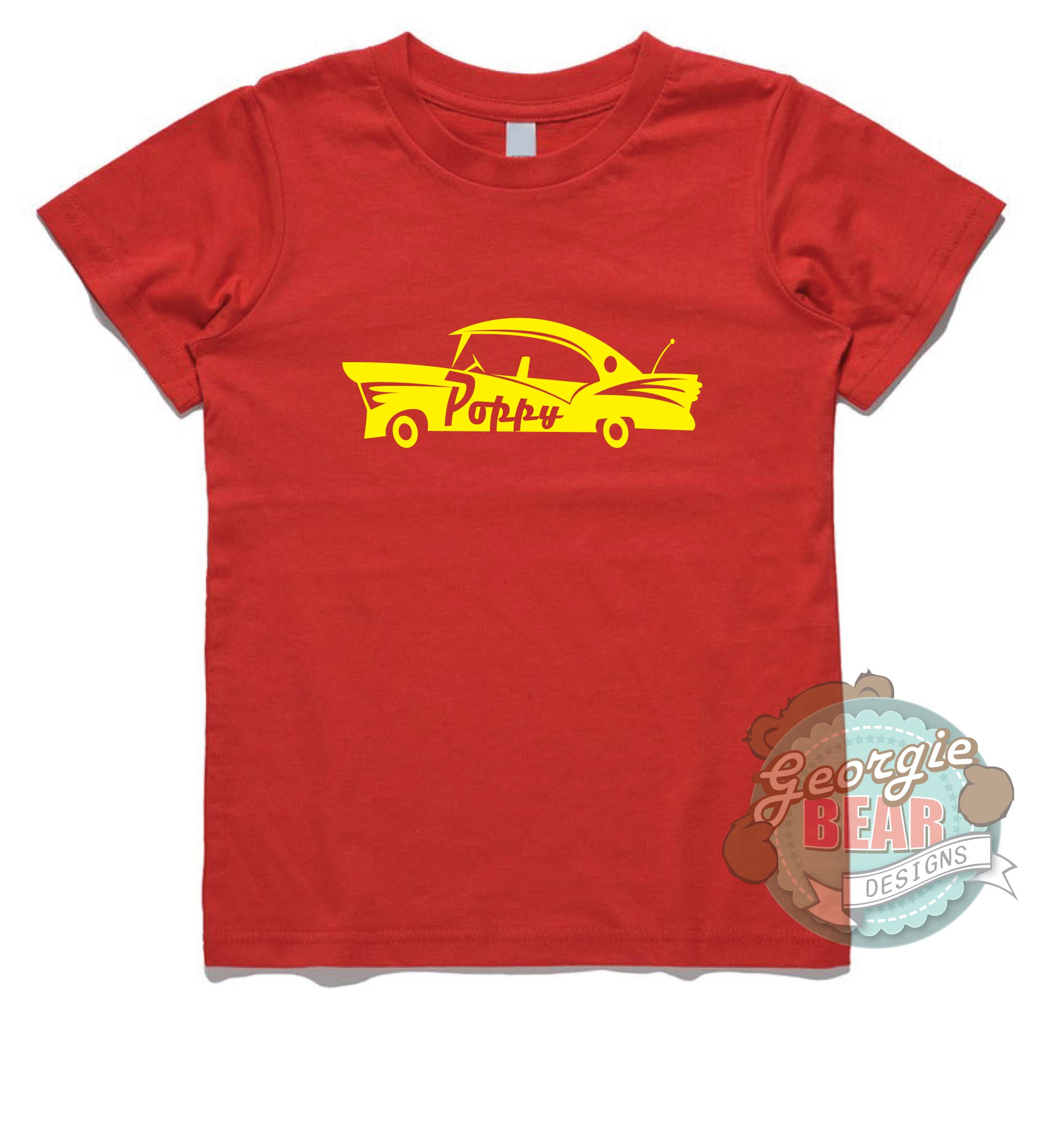 21bf0469a6d Retro Car! Personalised Kids T-shirt